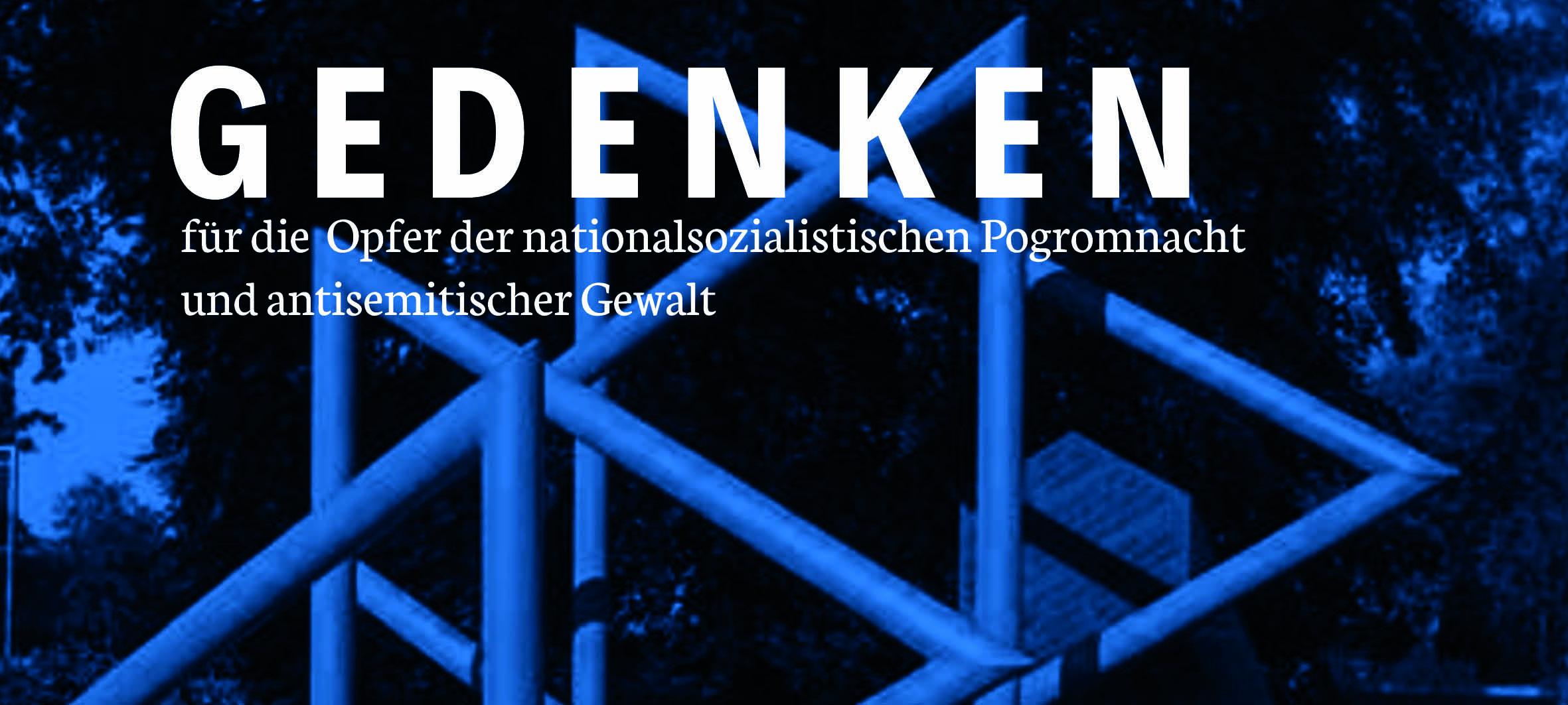 Gedenken zur Pogromnacht in Dorstfeld