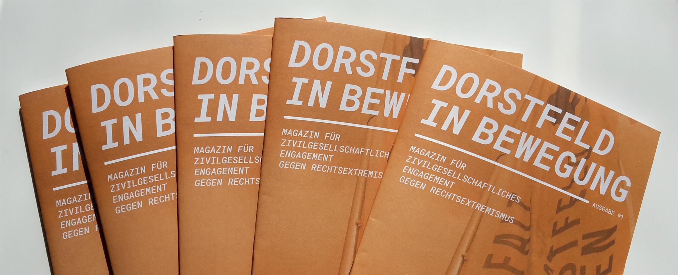 Erste Ausgabe des Magazins »Dorstfeld in Bewegung« veröffentlicht