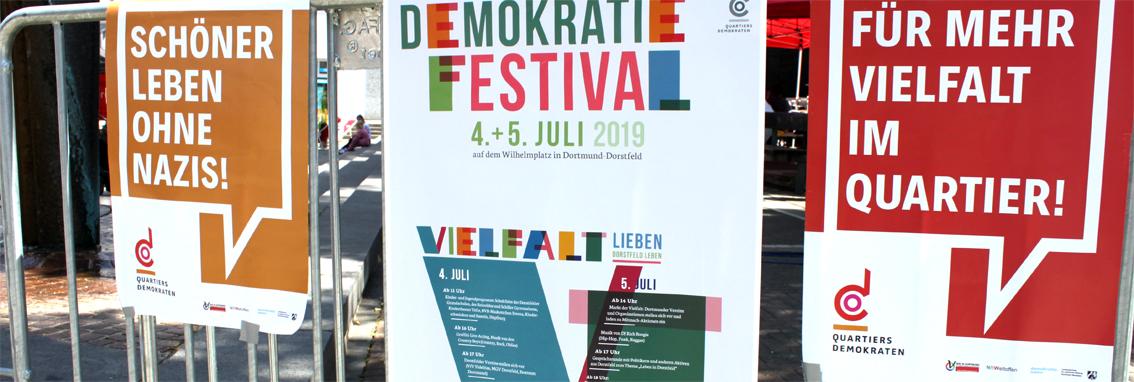 Rückblick: Demokratie-Festival 2019 auf dem Wilhelmplatz